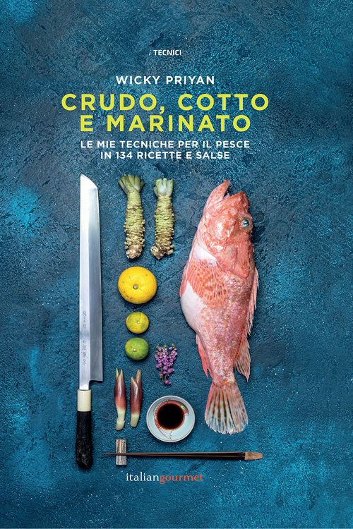 Wicky Priyan - libro Crudo Cotto e Marinato